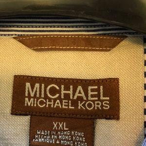 MICHAEL Michael Kors Shirts - Michael Michael Kors XXL Long Sleeve Button Down